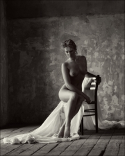 The-Draped-Chair-art-nude-Alison-ruin-demarco-edinburgh-trevor-yerbury